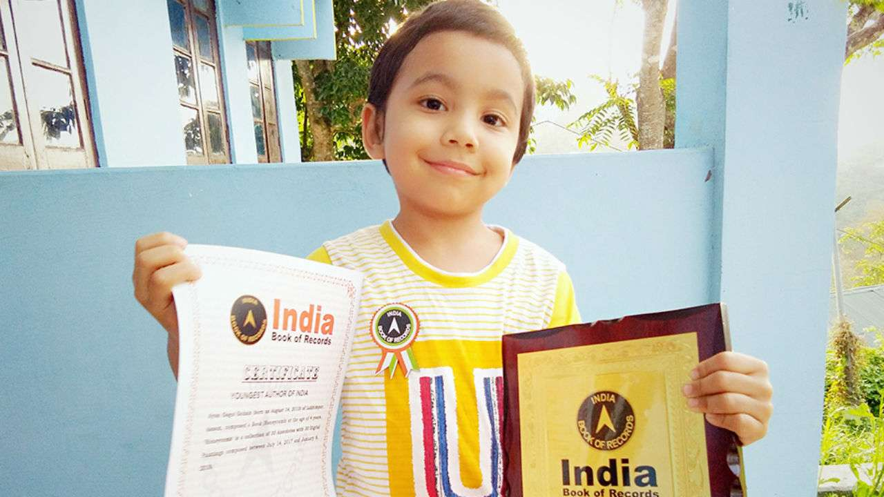 Meet 4-year-old Ayan Gogoi Gohain, the 'Youngest Author of