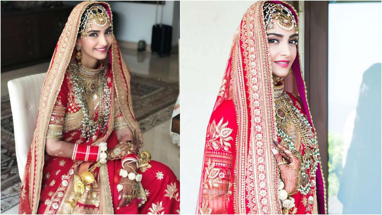 Sonam Kapoor Weedding Dress