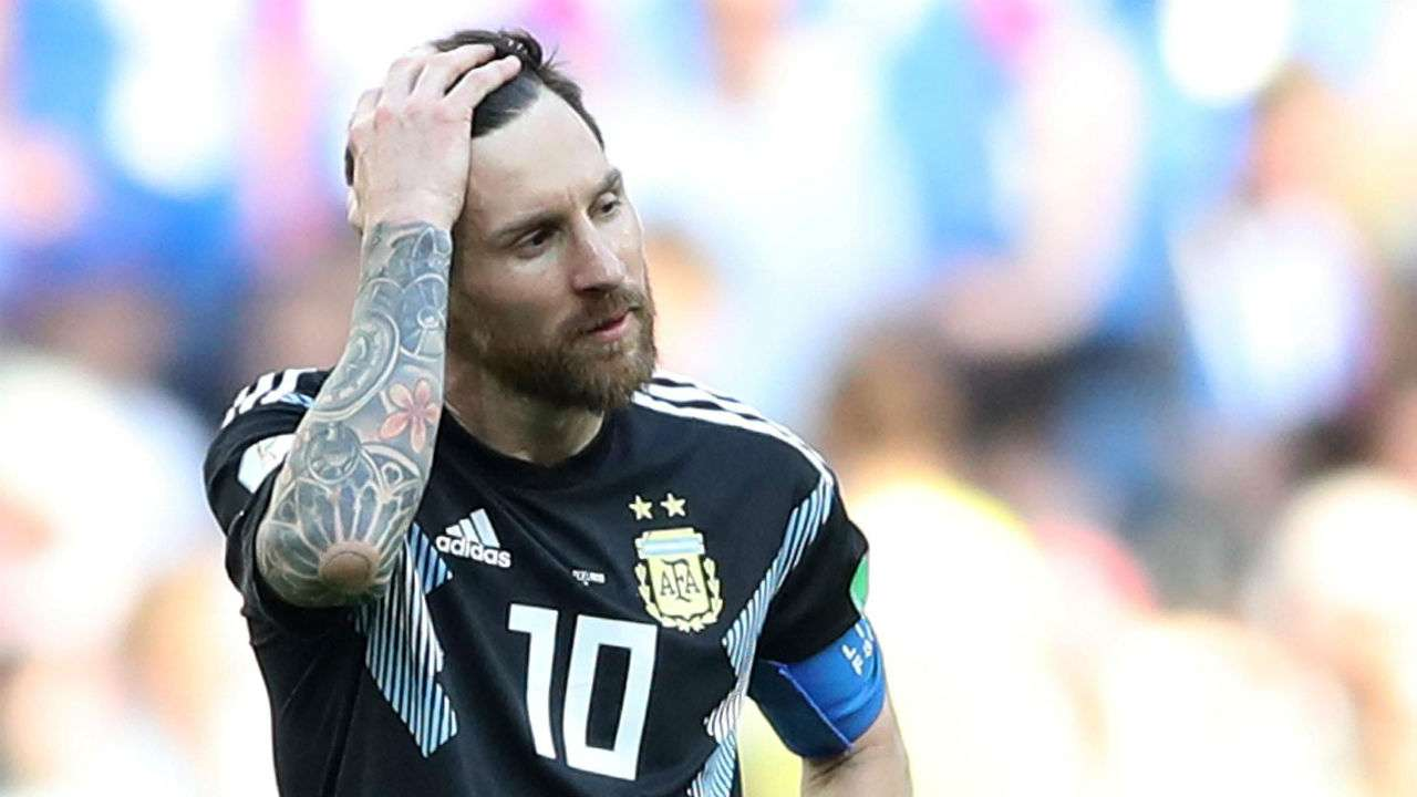4938f3b1c FIFA World Cup 2018  Lionel Messi misses penalty as Iceland hold Argentina  to 1-1 draw
