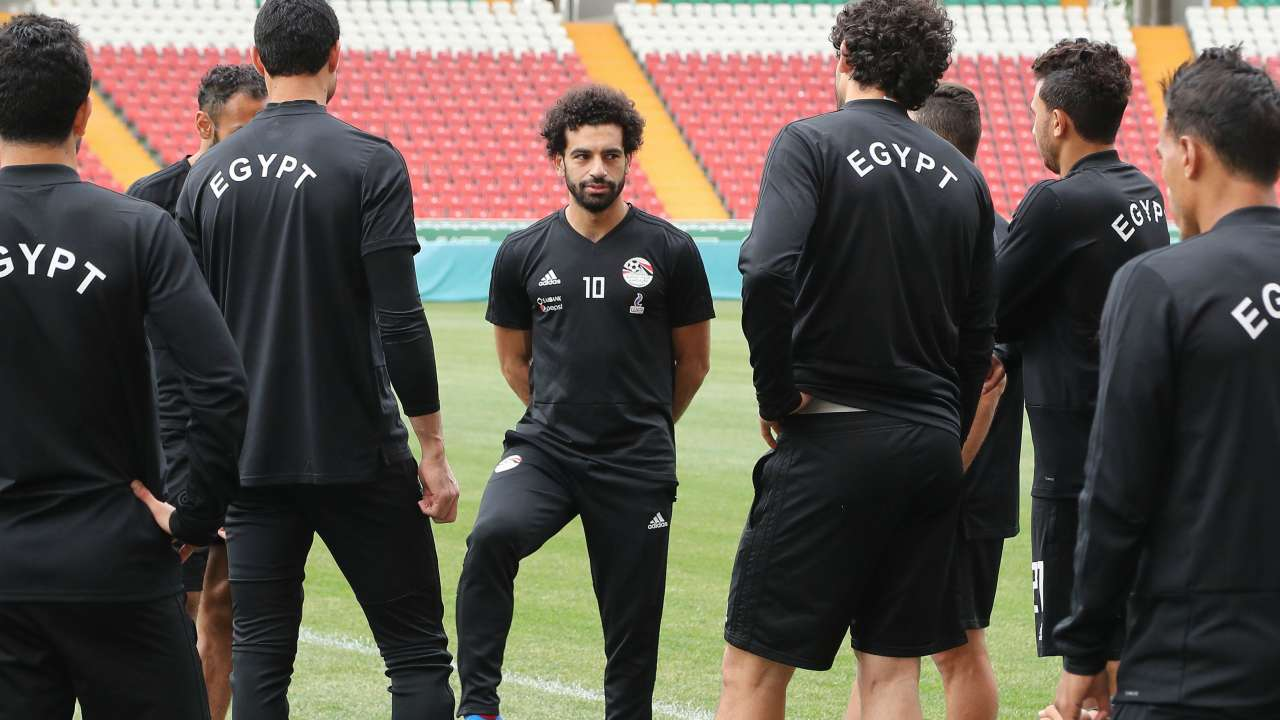 FIFA World Cup 2018 - Preview  Egypt s Mohamed Salah stands in way of host  Russia f47d83d2b