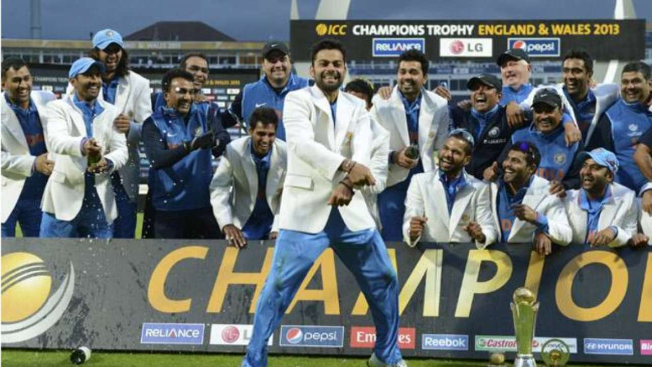 WATCH When MS Dhoni Completed His ICC Trophy Cabinet With Indias Champions Win Vs England In 2013