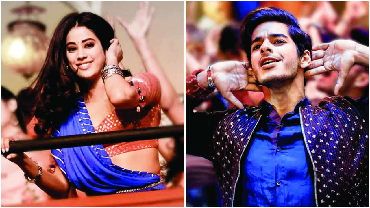 Dhadak: Hindi version of Zingaat song from Ishaan Khatter-Janhvi