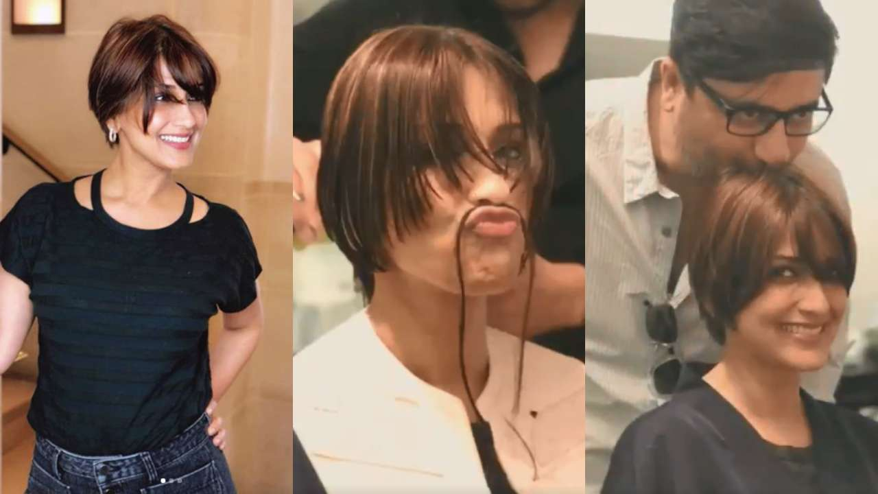 Sonali Bendres Thank You Post And Brave Haircut Video Shows She
