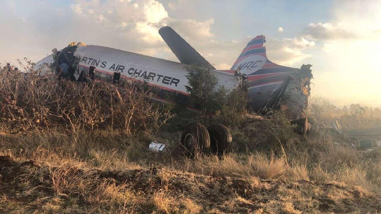 19 Injured In South Africa Vintage Plane Crash Emergency Services