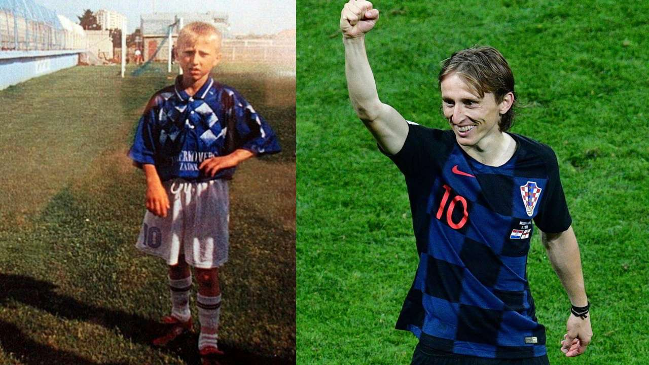 huge selection of 122ff c8780 What's your excuse? Luka Modric survived bombs and his ...