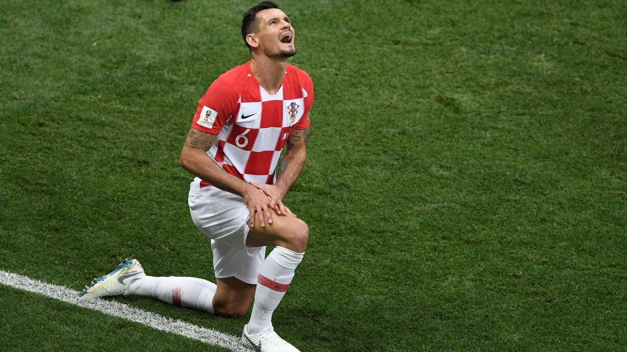 86f7e452059d World Cup 2018  Sore loser  Dejan Lovren claims Croatia played  much better  football  than France
