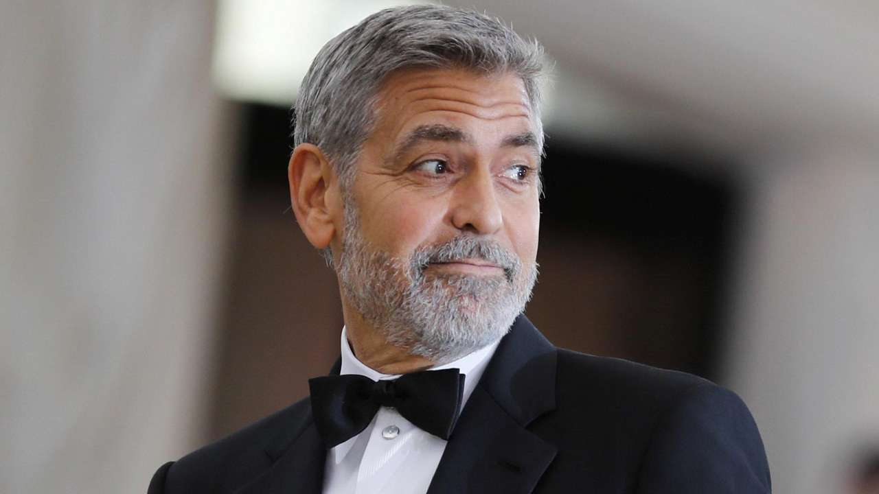 George Clooney is out and about just after 5 days of ...