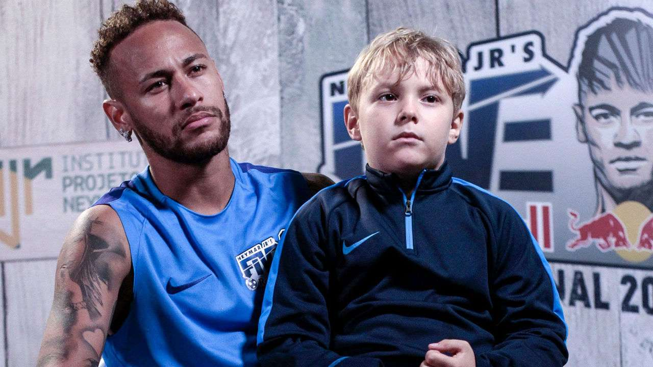 In Pics Neymar s day out with son is just what you need