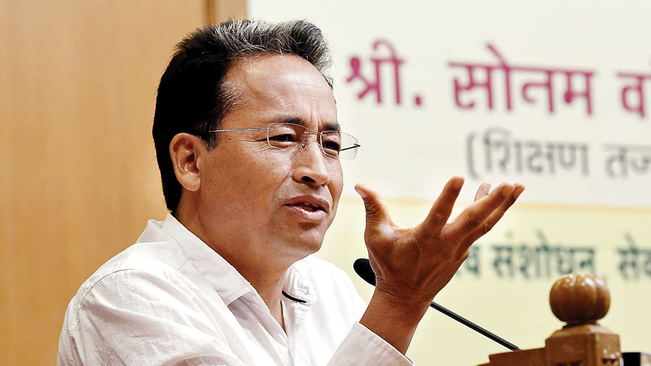 Paper knowledge is too papery, feels Sonam Wangchuk