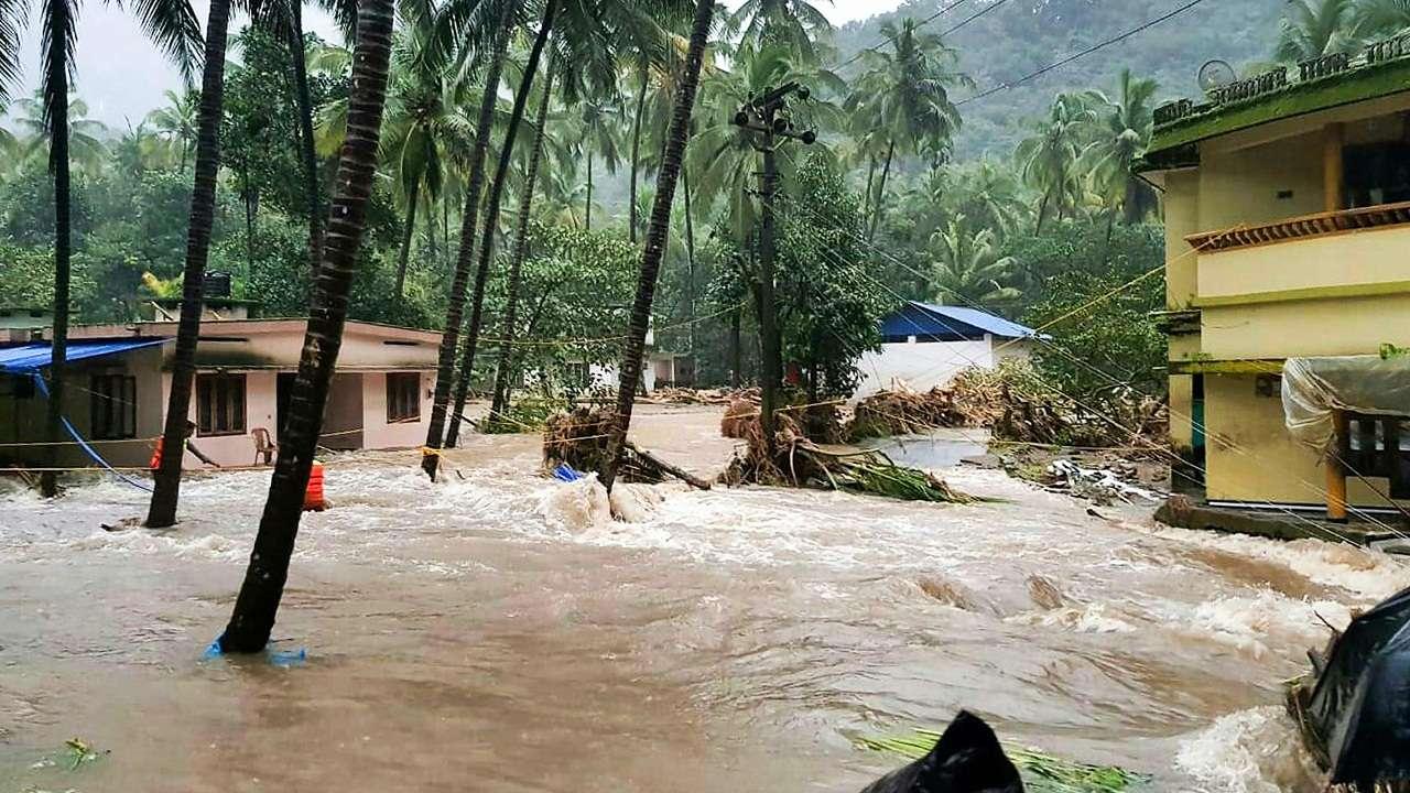 26 Killed As Rains Wreak Havoc In Kerala 2 More Shutters