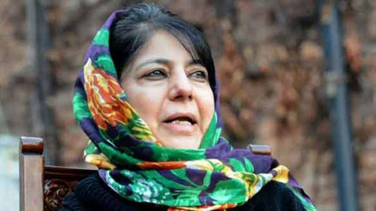 Why defamation case filed against Mehbooba Mufti?