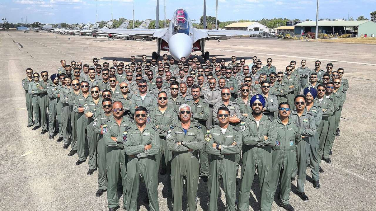 Indian Air Force team return after creating history during