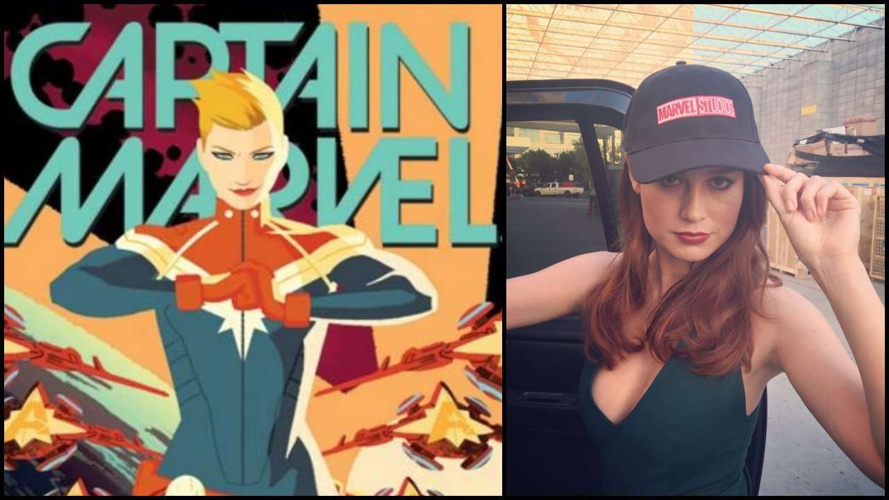 Official Merchandise For Captain Marvel Gives First Look