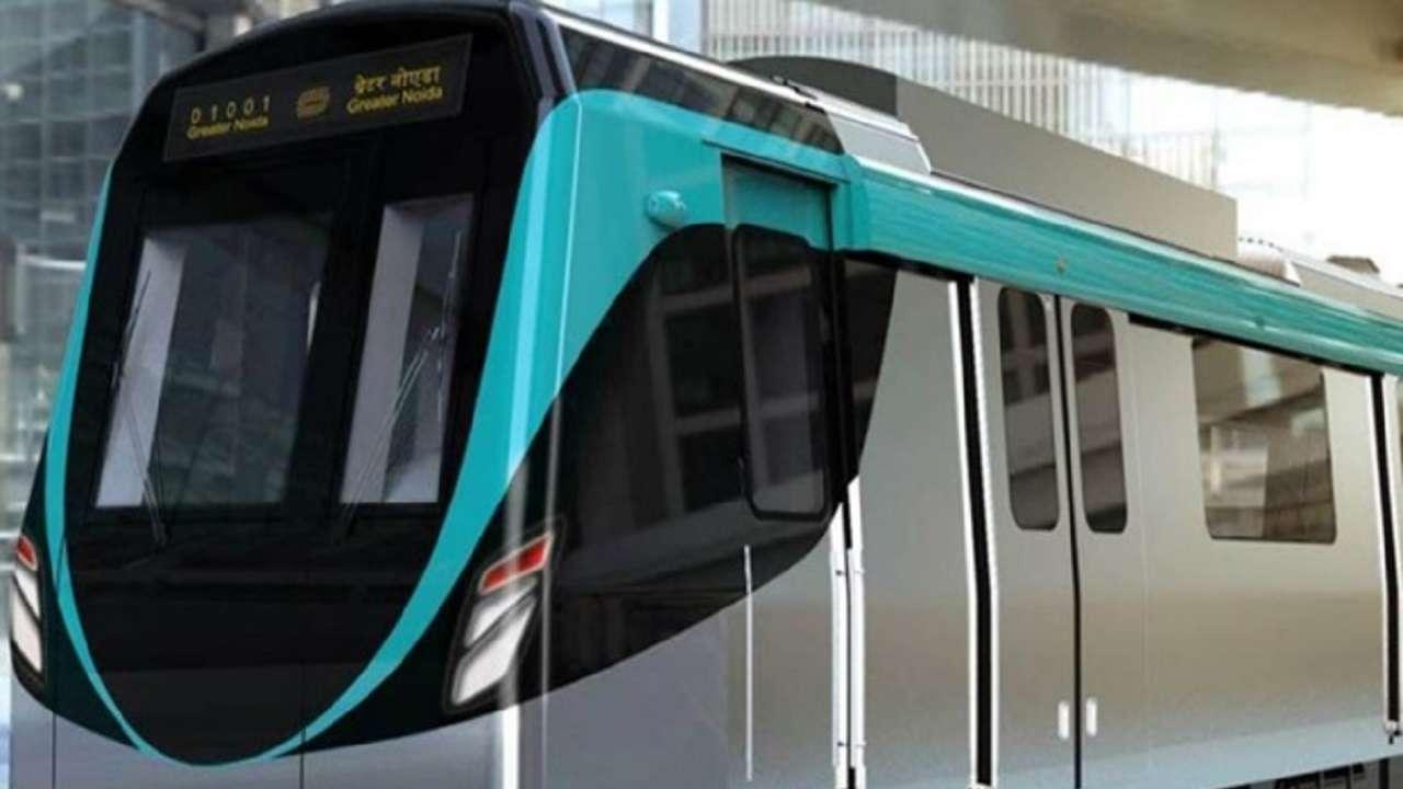 Image result for delhi metro aqua line