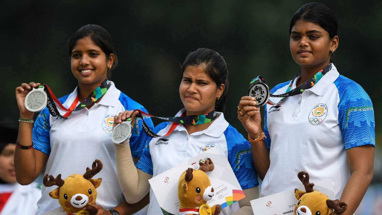 Compound Women's Archery Team