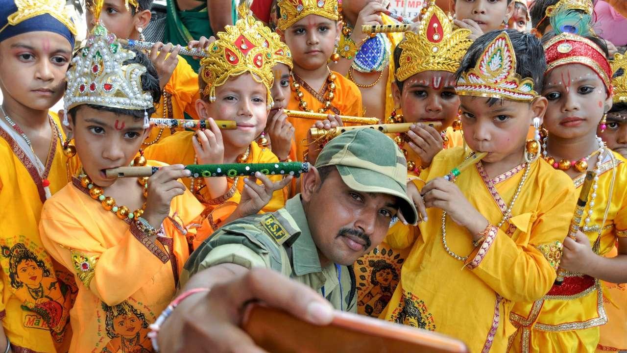 Krishna Janmashtami 2018: Adorable pictures of children