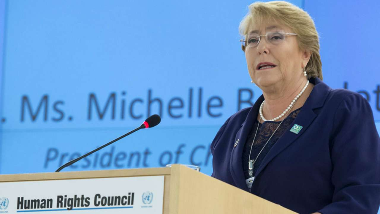 India and UN Human Rights chief Michelle Bachelet on Friday clashed over the ongoing farmers' protests against farm laws.