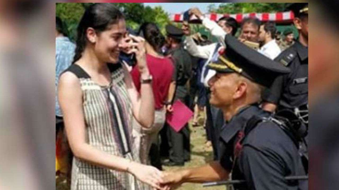 Indian Army officer's proposal to girlfriend at passing out