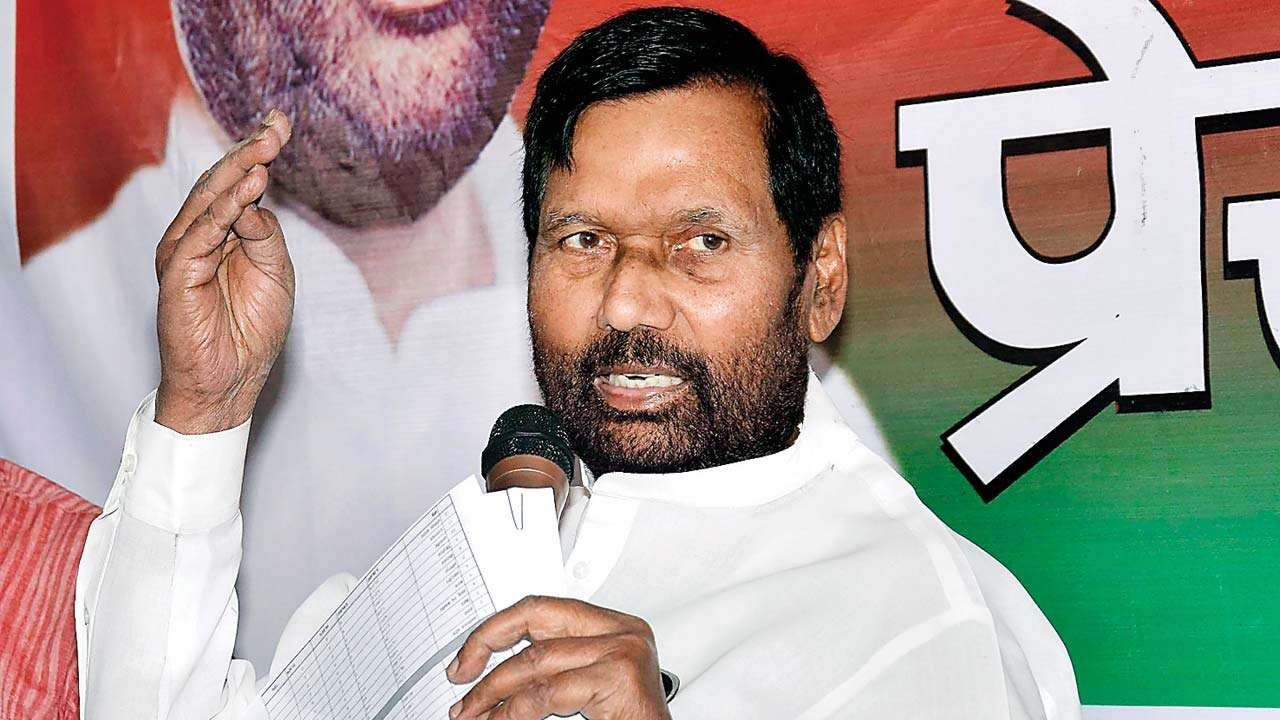 union minister ram vilas paswan s family feud out in open