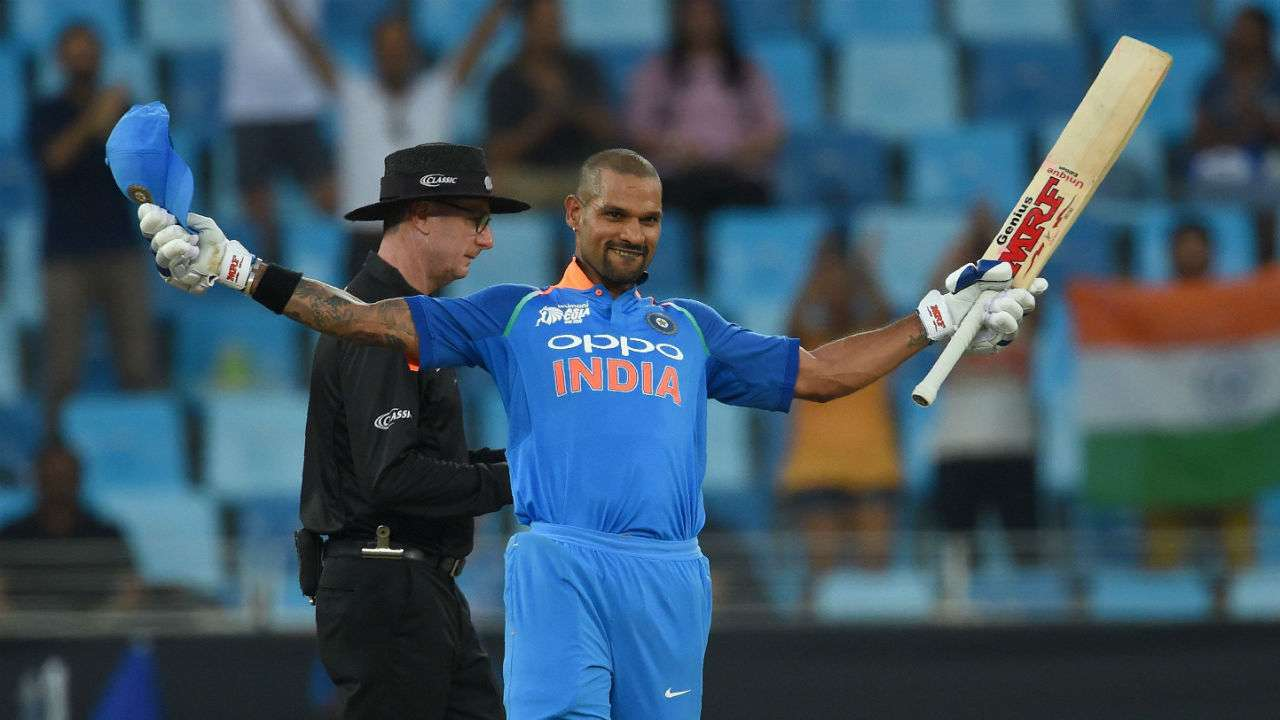 Image result for Shikhar Dhawan asia cup vs hong kong