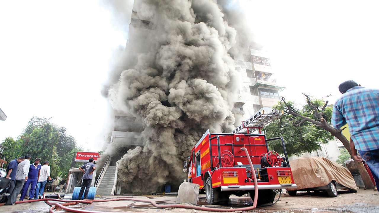 With staff short of 60%, Ahmedabad fire department can tackle only one incident a day