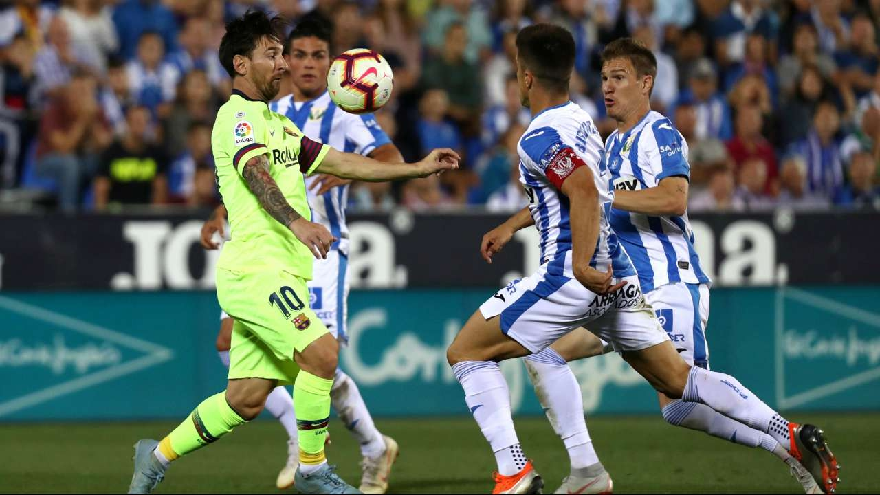 La Liga Leaders Barcelona Stunned By Defeat At Lowly Leganes
