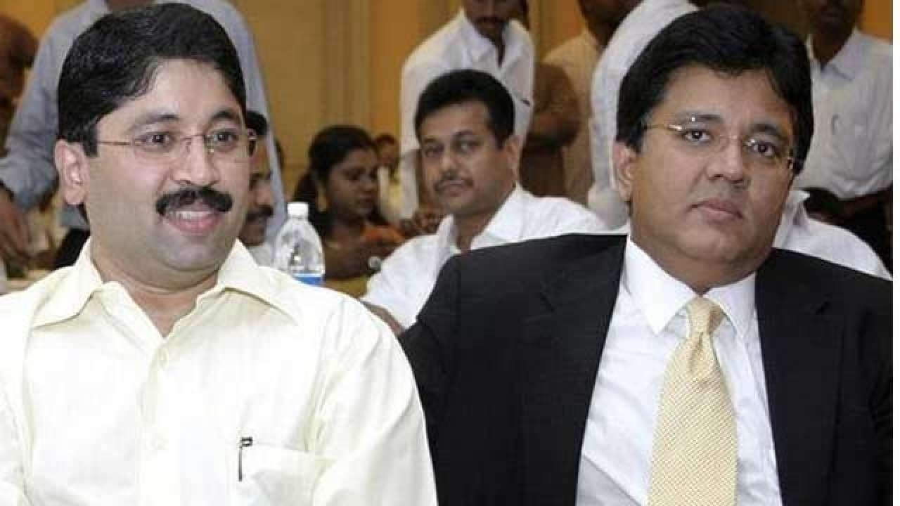 Maran brothers denied charges framed against former Telecom Minister Dayanidhi