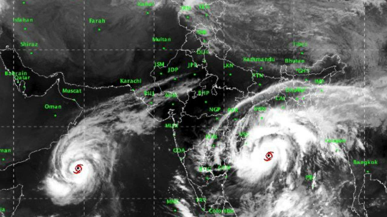 Bay of Bengal storm, named Titli!