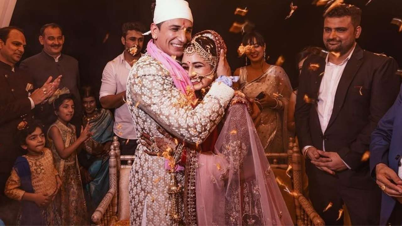VIDEOS: Prince Narula and Yuvika Chaudhary tie the knot in a big fat