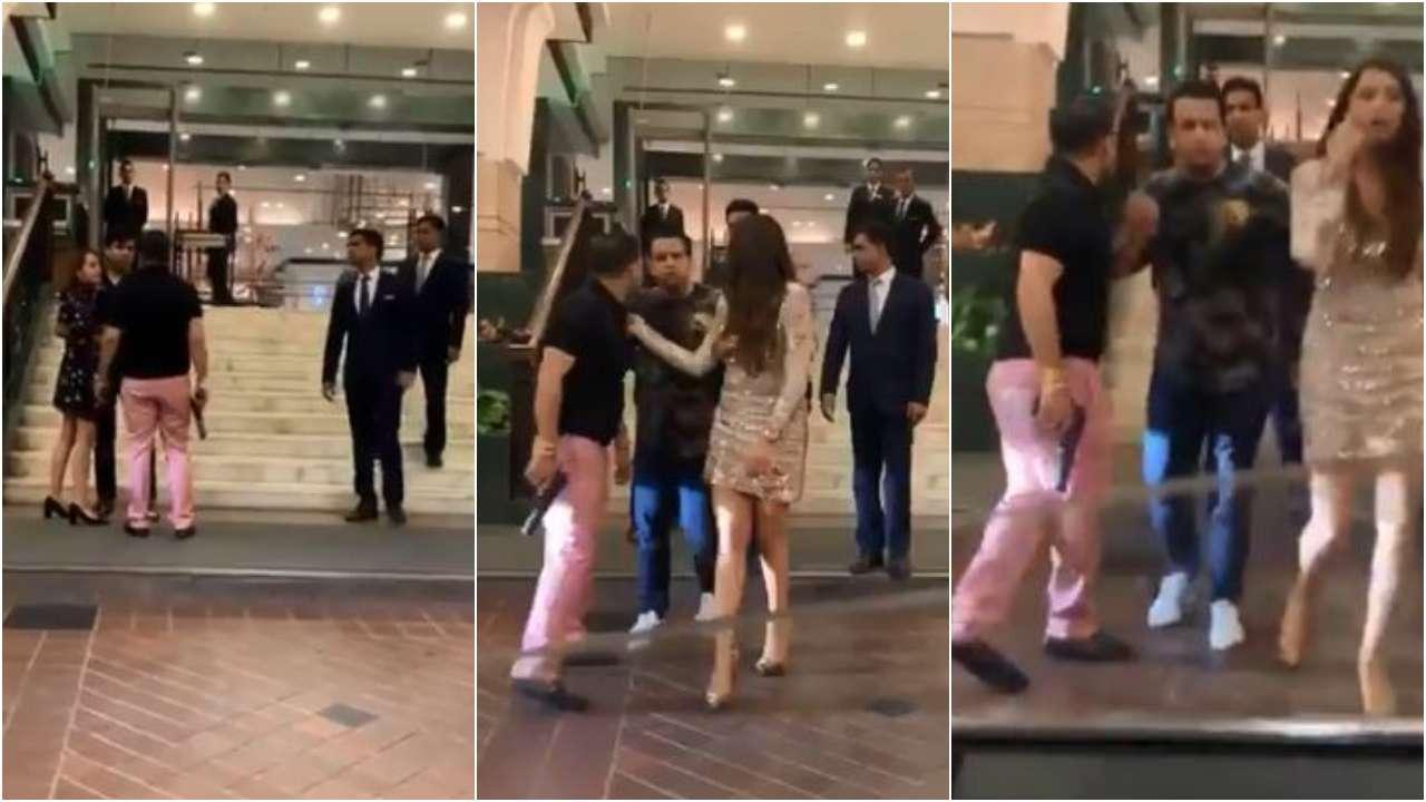 'Lucknow se hoon': BSP leader's son caught on camera brandishing gun outside Delhi 5-star hotel in viral video