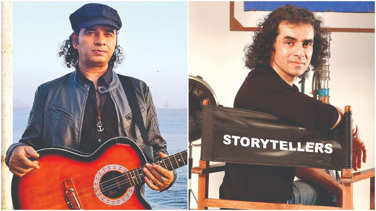 Mohit Chauhan and (right) Imtiaz Ali