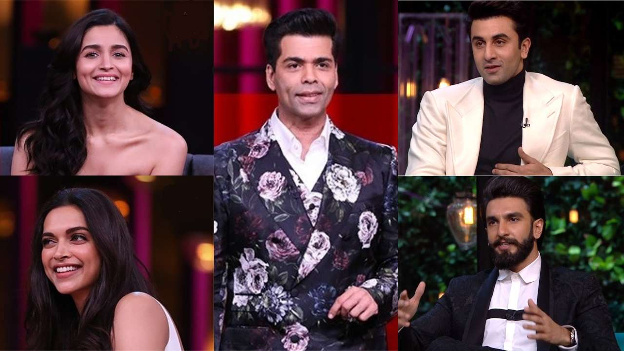ab7019739c97 Koffee With Karan 6: Deepika Padukone - Ranveer Singh, Alia Bhatt - Ranbir  Kapoor to go on a beach vacation, next year!