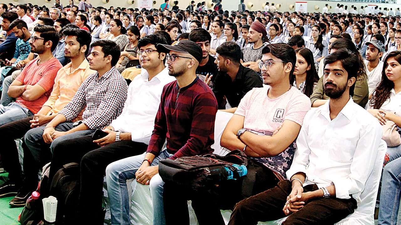 Delhi police educate youth over cyber crime fraud