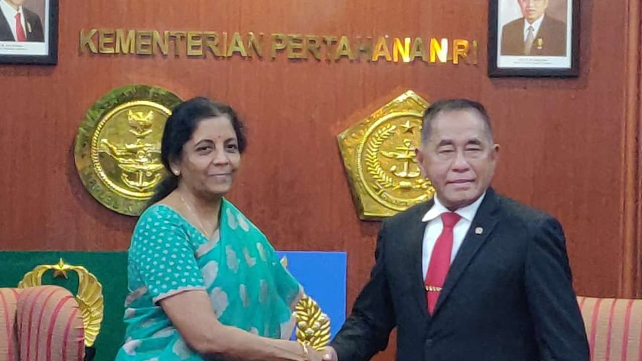 Bilateral Talks on Defence between India and Indonesia