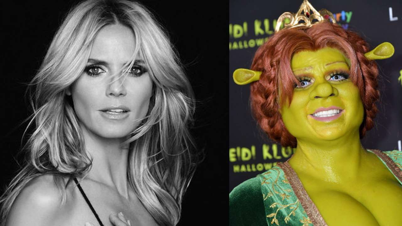 Halloween 2018 Supermodel Heidi Klum S Transformation