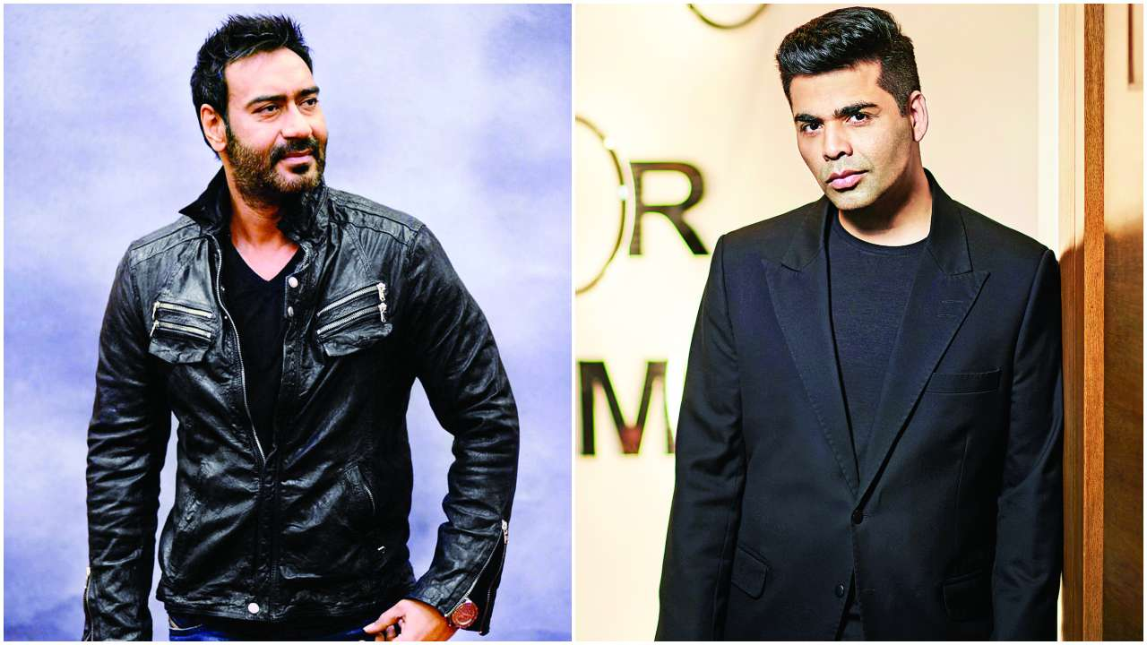 Image result for Karan Johar & Ajay Devgn Make Peace, Become Buddies Again?
