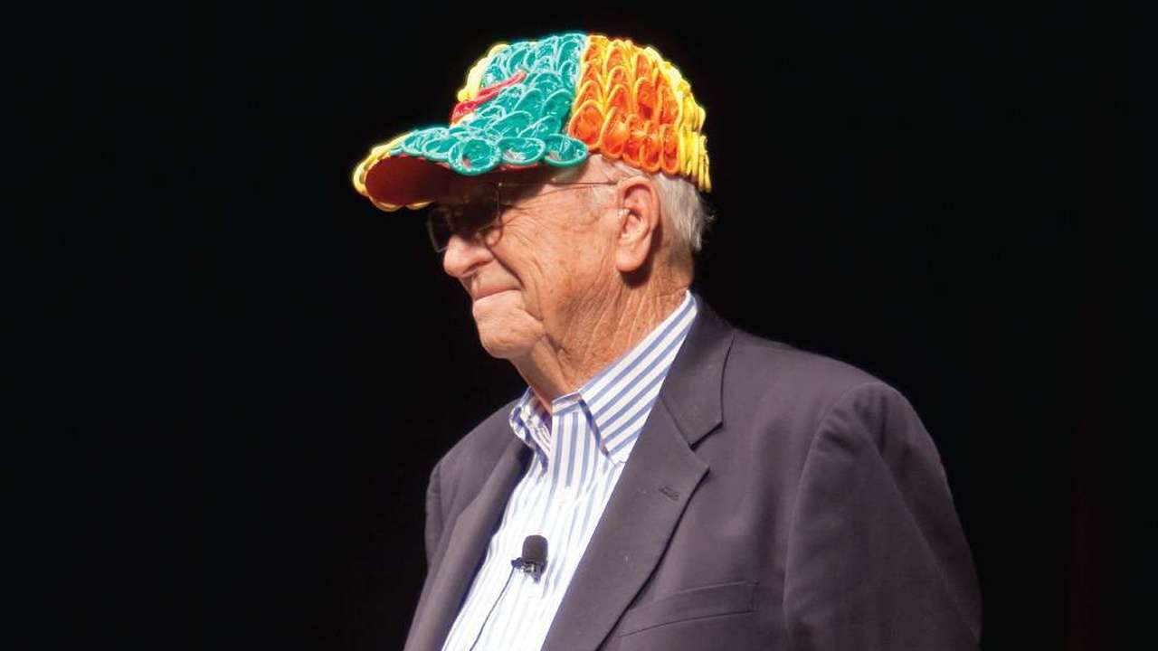 4e3e9be5d753f Crown of contraception  Why Bill Gates  dad wore a hat made of condoms