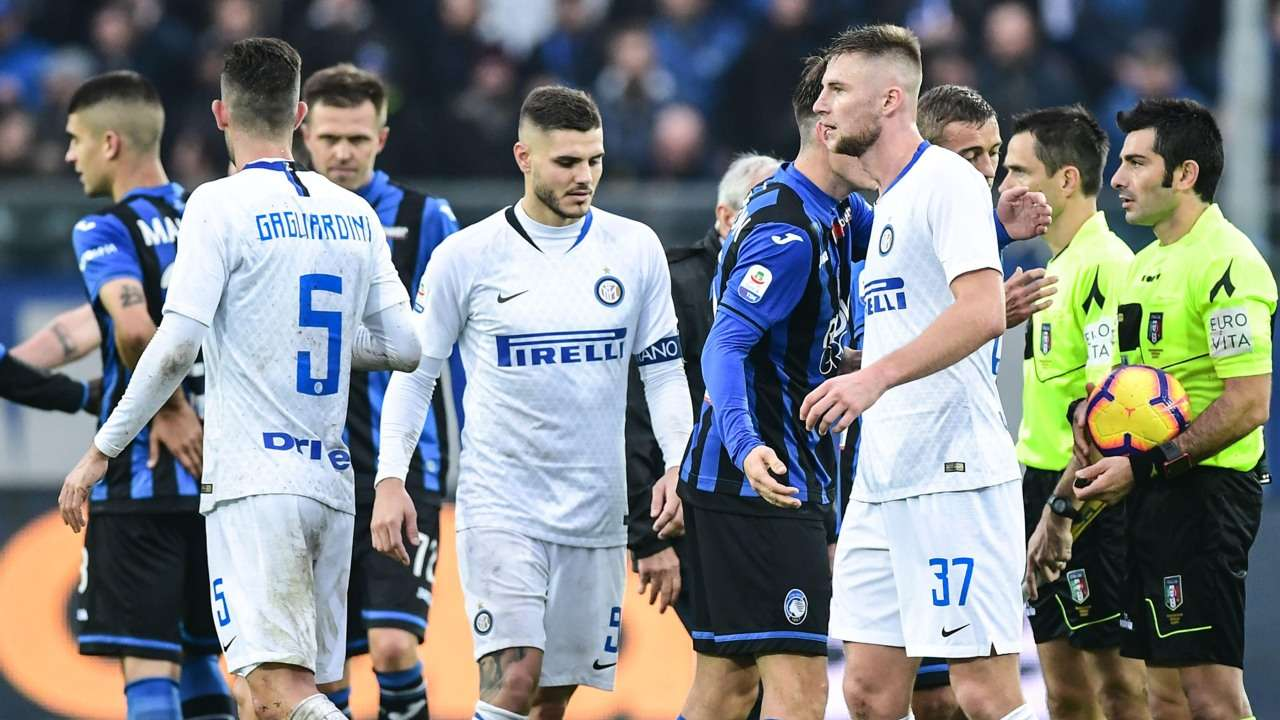 Serie A Inter Milan S Seven Match Winning Run Ends With Crushing 4 1 Loss To Atalanta