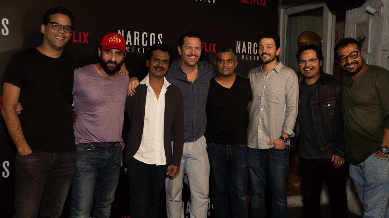 When Sacred Games Cast Met Narcos Mexico Stars Micheal Pena