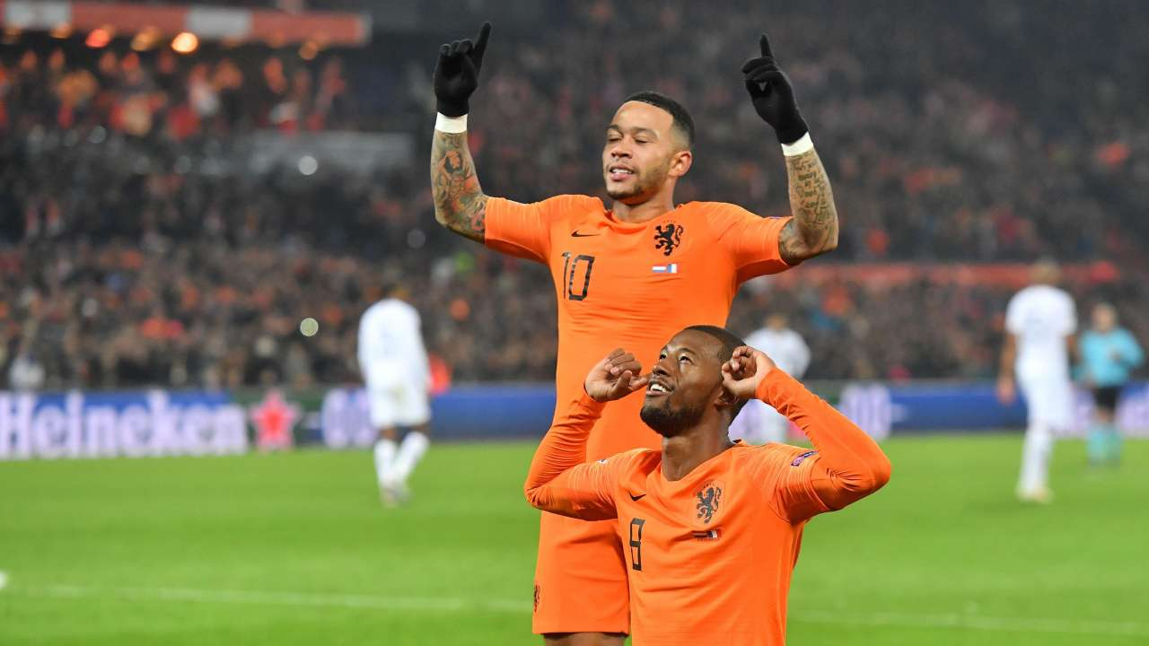 Nations League Football Netherlands Win Against France Germany Relegated