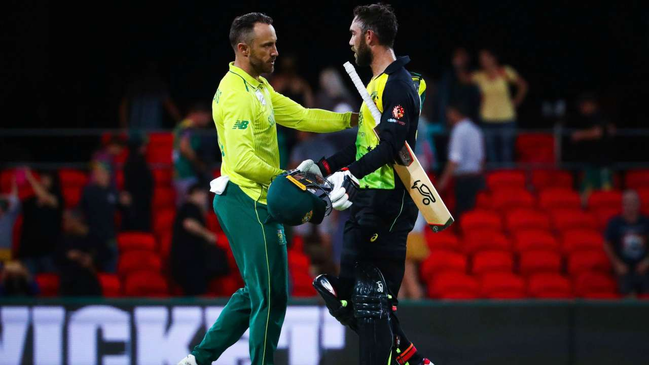 Australia Vs South Africa 1st T20i Proteas Register Comfortable Victory In Truncated