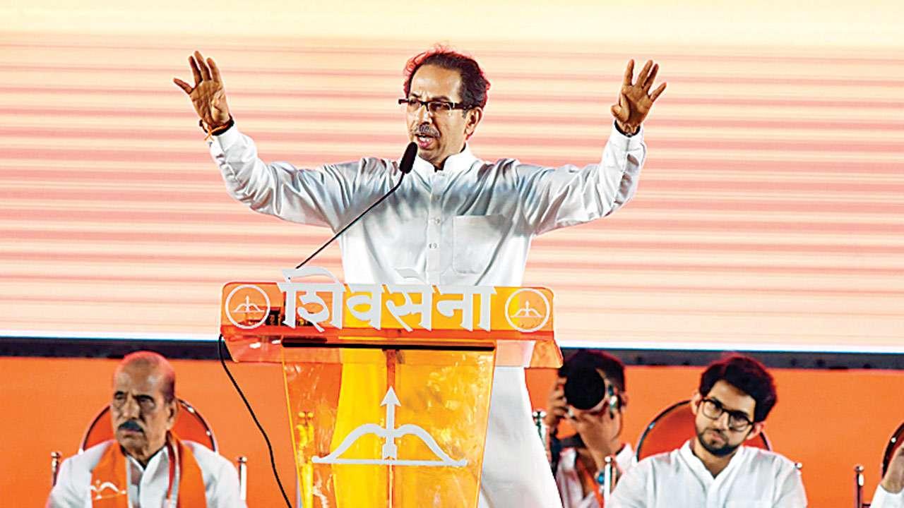 Shiv Sena looks to twist arms through slogan 'Pehale Mandir