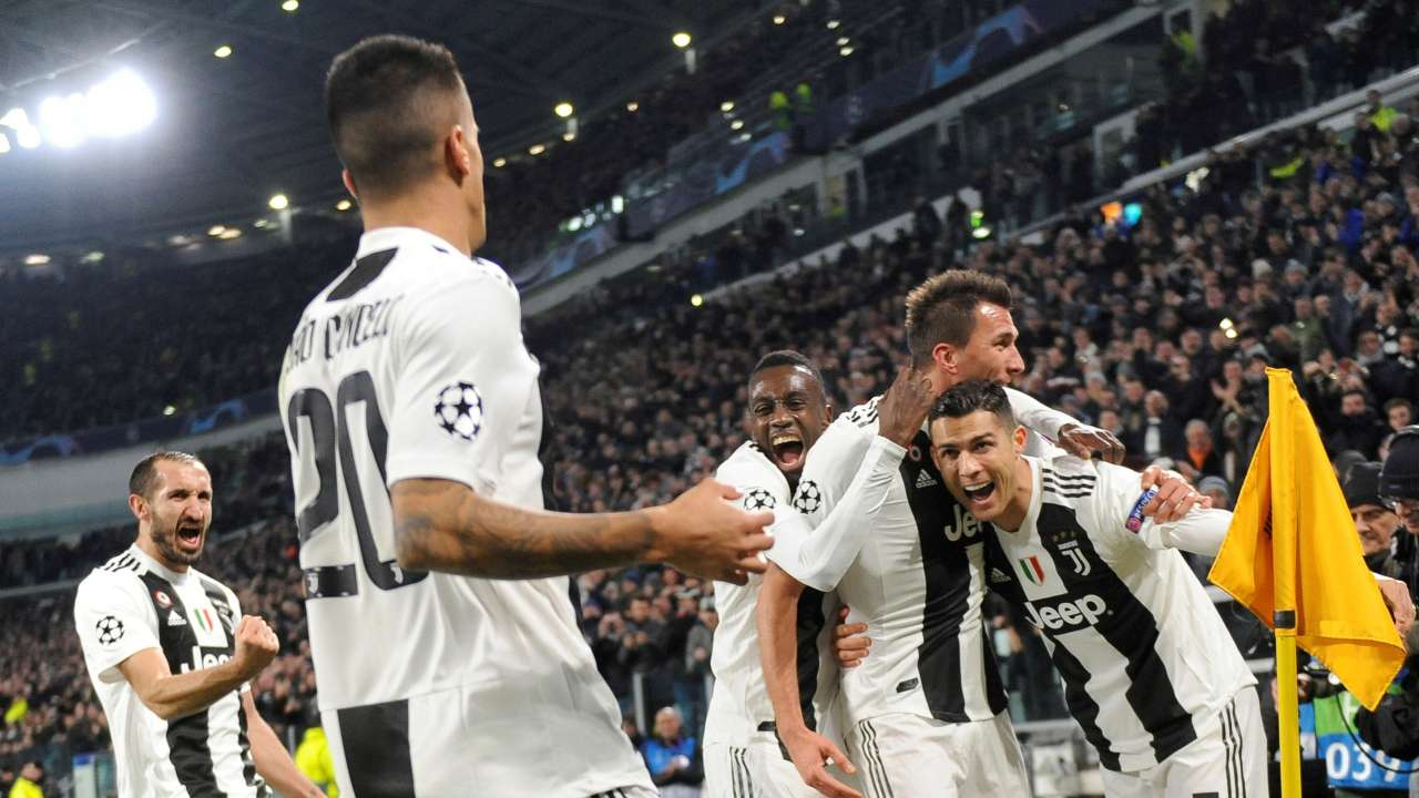 champions league juventus in last 16 as ronaldo assist sets up win over valencia champions league juventus in last 16