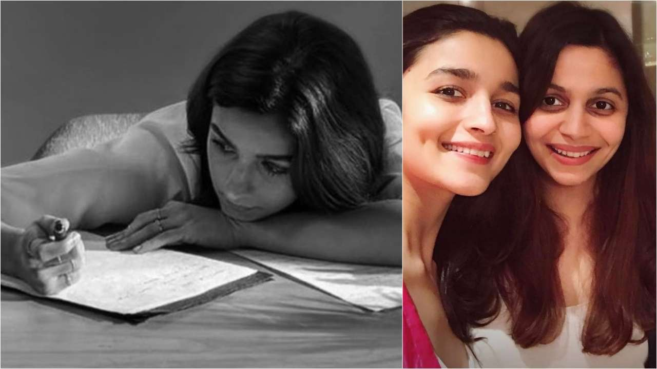 Alia Bhatt Pens Down A Heartfelt Birthday Wish For Her Wonder Woman Shaheen Your Little Sister Misses You