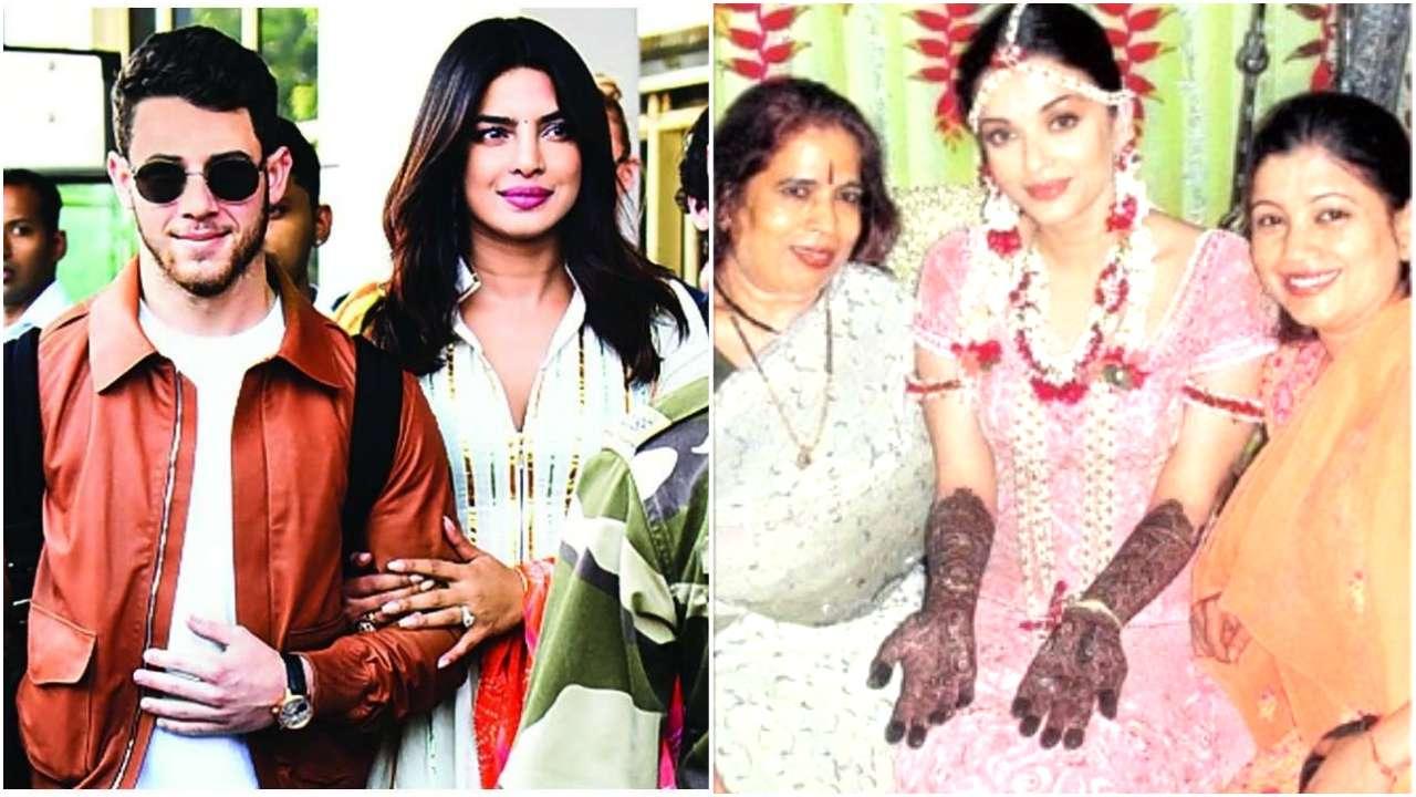 Iswarya Rai Wedding.Priyanka Chopra And Aishwarya Rai Bachchan S Mehendi Ceremonies Had