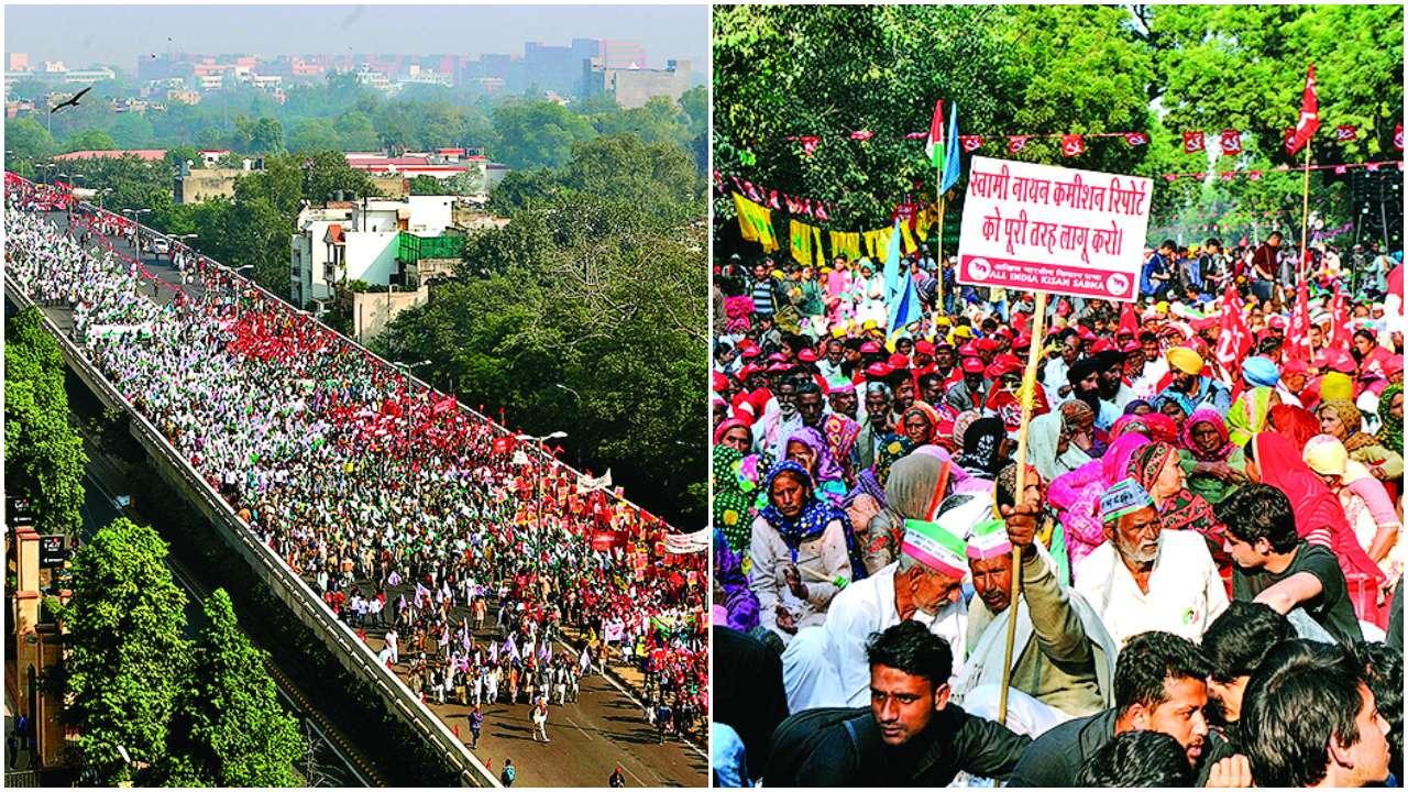 Image result for kisan mukti morcha