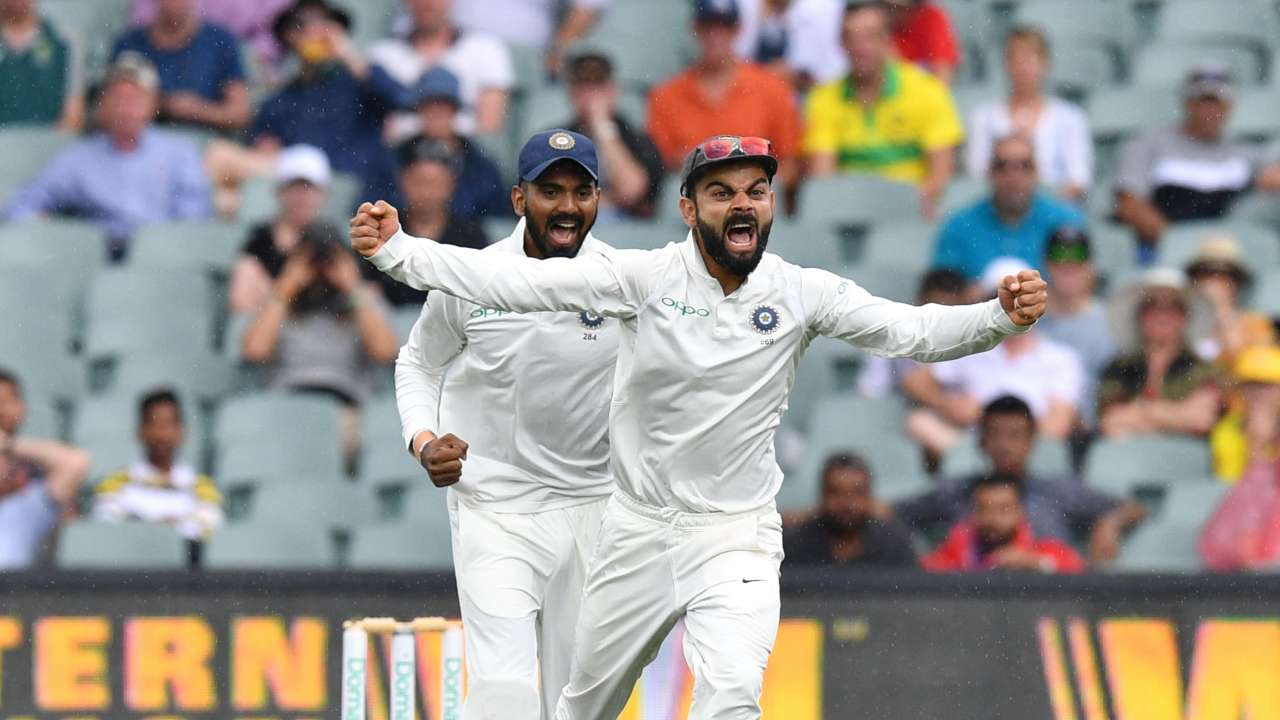 India have Australia on the ropes | First Domain Test ...