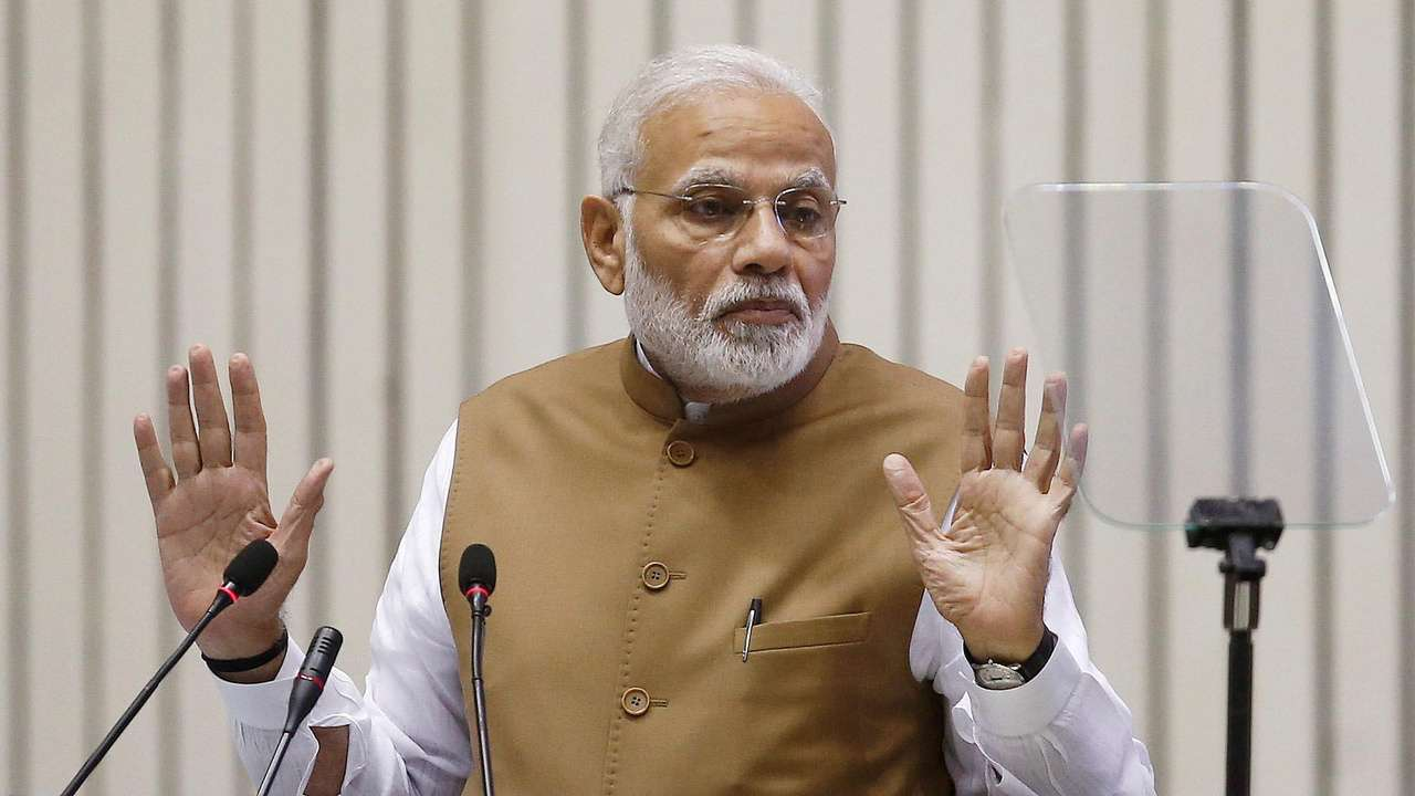 PM Modi urges TN BJP workers to enroll more people for central schemes
