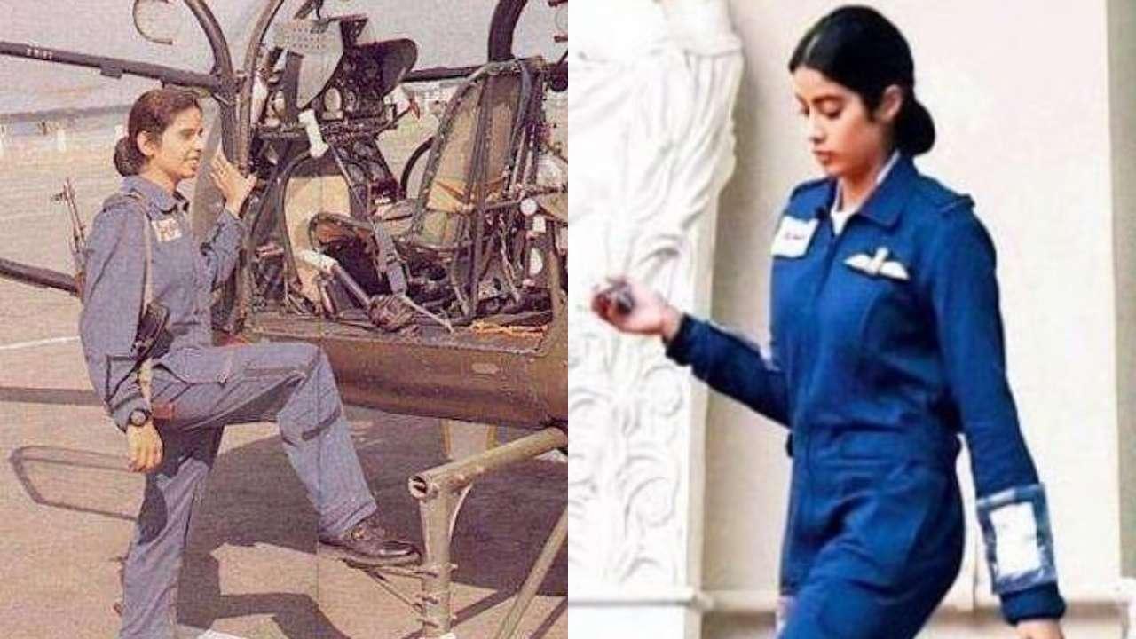 Leaked Janhvi Kapoor S First Look As Gunjan Saxena Is Giving Us High Hopes