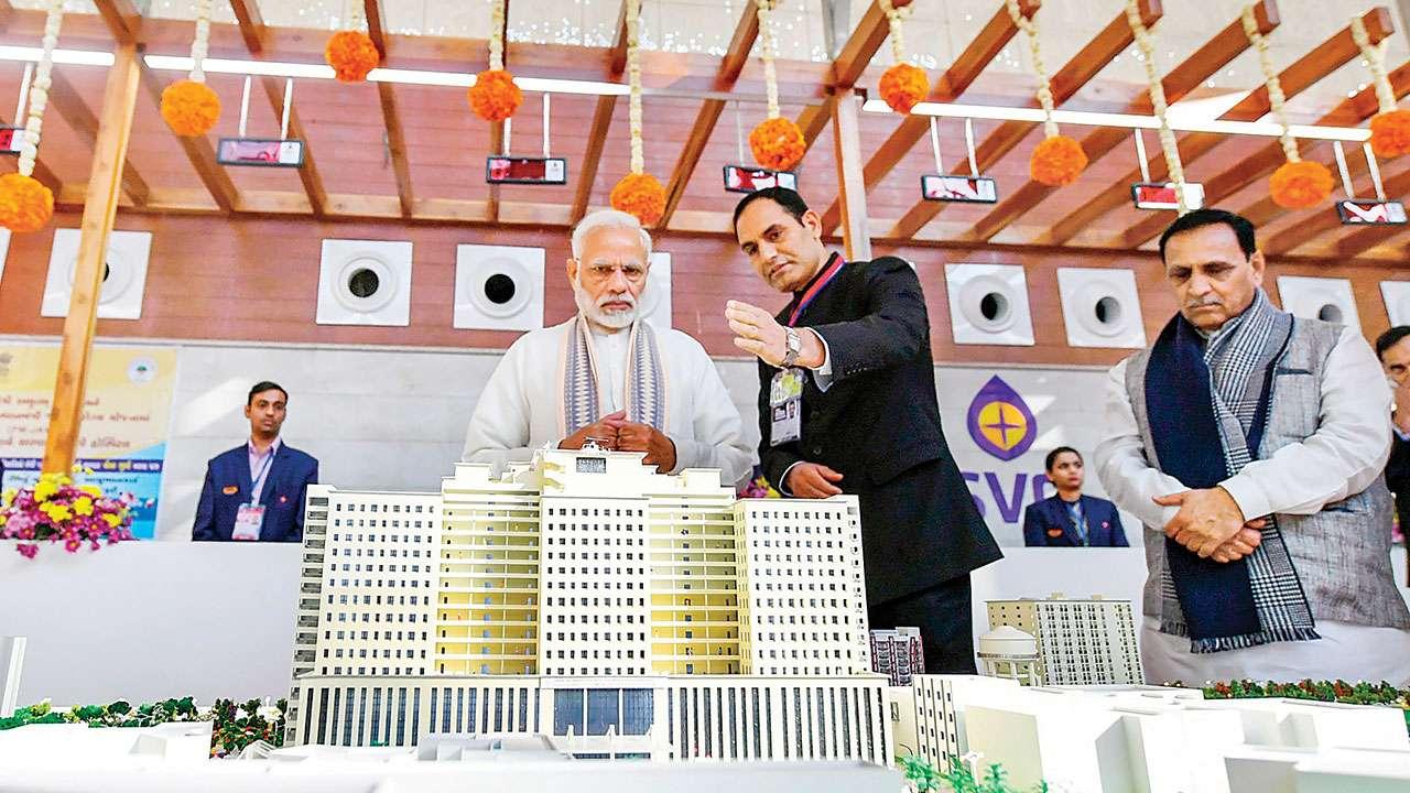 Ahmedabad: PM Narendra Modi inaugurates largest Urban Local Body-run hospital